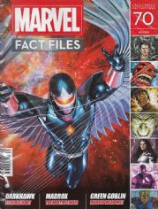 Marvel Fact Files #70 Eaglemoss Publications